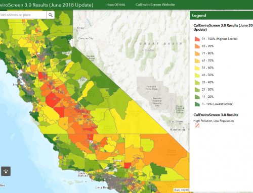 Cal/EPA's New Cumulative Health Screening Tool